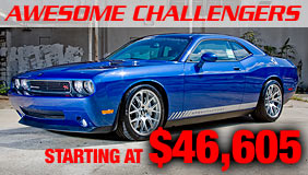 Click to see the full line of Supercharged Dodge Challengers