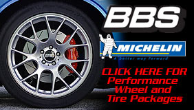 BBS Wheels and Michelin Tires